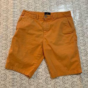 Men's AEO Sherbet Orange Prep Shorts. Sz 30